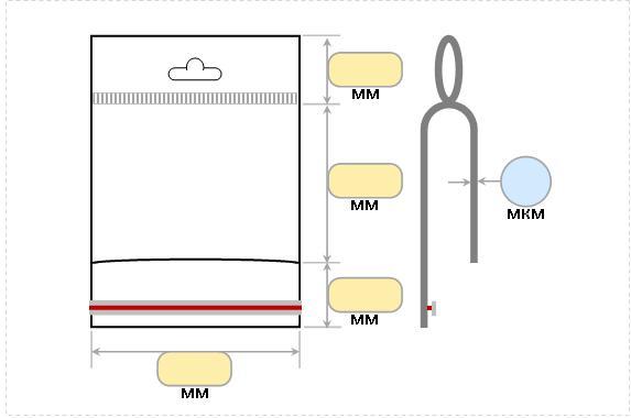 пп пакеты с клеевым клапаном и логотипом